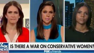Candace Owens Vs. Jessica Tarlov - Heated debate Fox & Friends - 06/24/18