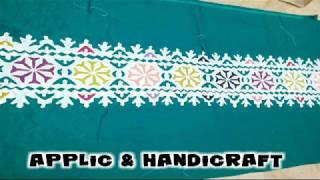 Handmade Applic & handicraft Work Live Female Collection | Subscribe our channel