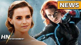 Emma Watson Frontrunner for Black Widow Movie NEW Female Lead