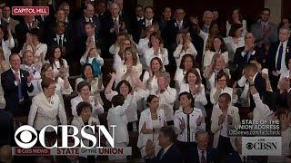 Congress cheers as Trump acknowledges record number of female members
