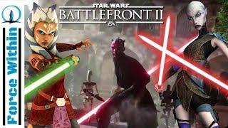 Ahsoka Coming To Battlefront 2? New Female HEROES Confirmed? Star Wars Speculation
