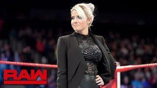 Alexa Bliss reveals the Raw Women's Survivor Series Team: Raw, Nov. 12, 2018