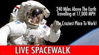 LIVE  Coverage of First All Female Spacewalk -  ISS Expedition 61 U.S. Spacewalk #58