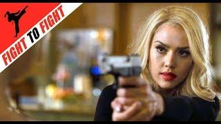 CATFIGHT, Female Fight Scene, Blonde Villainess, Young Girl vs Young Woman, Jessica Alba