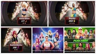 NEW UPDATE ADD FEMALE SUPERSTARS WWE MAYHEM...
