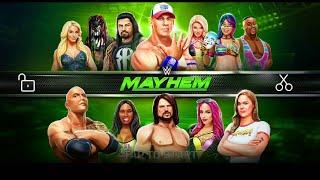 Wwe mayhem survaivar Series update female super stare add