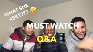 Interesting Q&A (His type of female is what??)