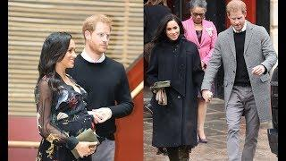 Duke And Duchess ofSussex Brave The Snow & Cold Temperature To Visit 3 Charity Locations In Bristol