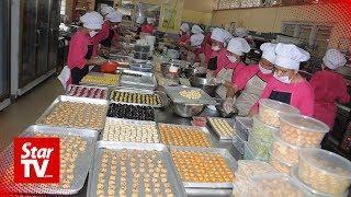 Women inmates churn out mouth-watering kuih Raya