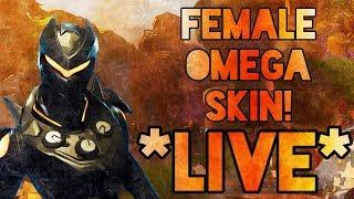 NEW LEGENDARY FEMALE OMEGA SKIN *OBLIVION* OUT NOW! W/ Subs | Fortnite *LIVE*