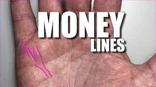 MONEY LINES FEMALE HAND | Palmistry