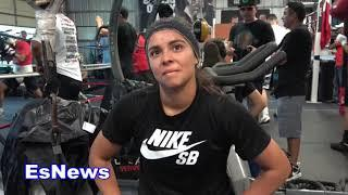 Meet Cookie Future Female Boxing Champ EsNews Boxing