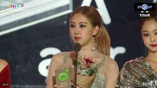 BLACKPINK WIN BEST DANCE FEMALE @ 10th MELON MUSIC AWARDS 2018
