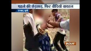 UP: Video of a woman molested by men goes viral on social media