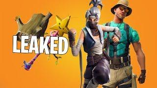 Fortnite All Leaked v8.10 Skins & Cosmetics! (Female & Male Ninja , New Starter Pack..)