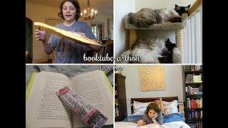 BOOKTUBE-A-THON | DAY TWO
