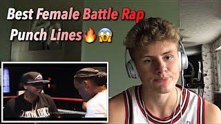 Best PunchLines of Female Battle Rap Reaction ????