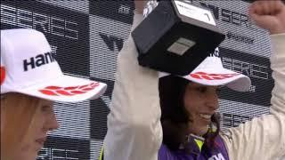 Britains Jamie Chadwick wins 1st all female W Series race
