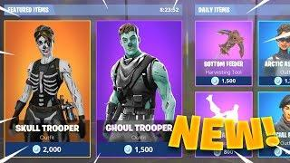 *NEW* FEMALE SKULL TROOPER COMING OUT! (Skull Trooper V2 Skin!) - Fortnite: Battle Royale
