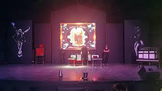 Magic show antalya illusion magician Female illüzyon gösteri trick  half lady