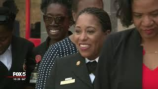 First black female fire chief honored in East Point
