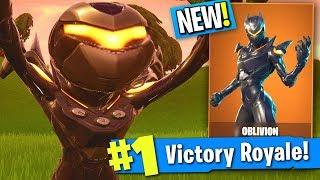 "The FEMALE OMEGA SKIN IS HERE... (17 Kill Solo Victory Royale ""Oblivion"" Fortnite Gameplay)"