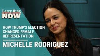 Trump's Election Changed Female Representation: 'The Fast and The Furious' Star Michelle Rodriguez
