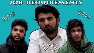 Job Requirements For Male & Female||Tips||TYPICAL PAKISTANIZ||