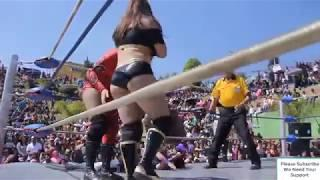 Out Door Female Wrestling