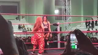 Video: Rakhi Sawant screwed up with expensive foreign-female wrestler Dangerous Challenge