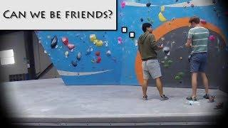 Are Climbers Nice? (Social Experiment)