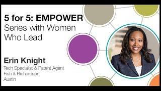 5 For 5: EMPOWER Series with Women Who Lead | Erin Knight