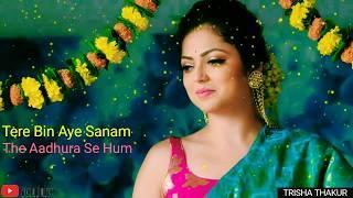 Tere Bin Aye Sanam   Female Version   Sad   WhatsApp Status Video   30 Sec   Lyrics