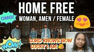 DIERKS BENTLEY/KEITH URBAN - WOMAN AMEN/FEMALE(HOME FREE COVER)/REACTION VIDEO/mhaireactionvideo