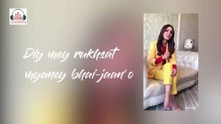 Dilbaro Lyrics   Female Cover Dilbaro  Lyrical Video song   Raazi Song   Rukhsati Song