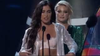 Lauren Jauregui winning choice female hottie teen choice awards