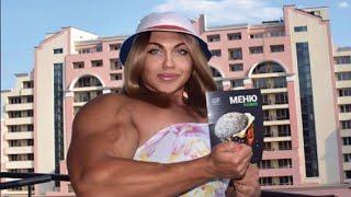 Russia's Biggest Female Bodybuilder Puts Most Men to Shame, but Wait Until You See Her Before Photo