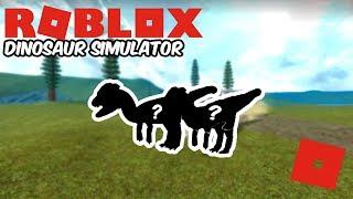 Roblox Dinosaur Simulator - New Male and Female Dilophosaurus? (Short Video)
