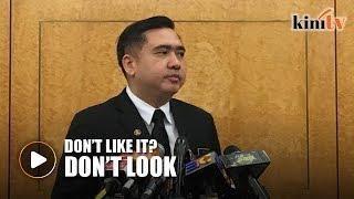 Anthony Loke: Look away from female flight attendants if you don't like their attire