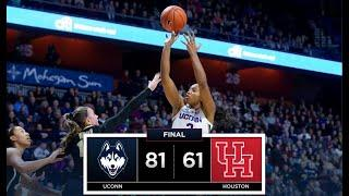 UConn Women's Basketball Highlights v. Houston 01/06/2019