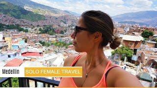 I went to Medellin Colombia alone...and loved it! - Solo Female Travel Vlog