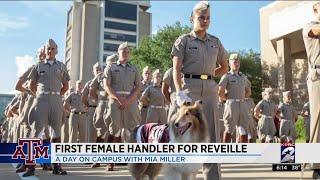 First female handler for Reveille