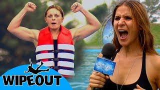 The Female Terminator ???? | Total Wipeout | Clip