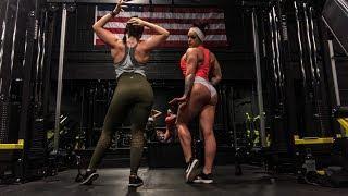 DMV Iron Gym / Female Back Training at 16 Weeks Out