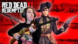 RED DEAD REDEMPTION 2 Walkthrough Part 8 - FEMALE GUNSLINGERS