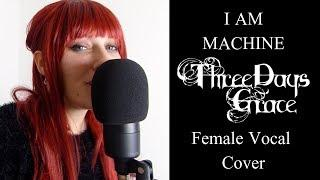 I Am Machine (Female Cover) | Katja Macabre
