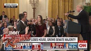 Team Trump Spreading Doctored Jim Acosta Video