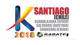 Hikaru Ono (JPN) -  Sandra Sanchez (ESP) - Karate 1 Santiago 2018 - Final Kata Female
