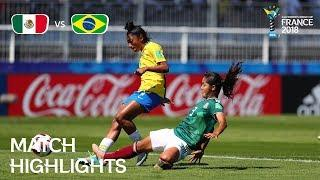 Mexico v. Brazil - FIFA U-20 Women's World Cup France 2018 - Match 4