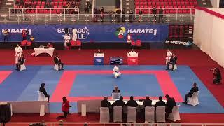 Karate 1 Series A- Female Kata: Grace Lau Mo Sheung (HKG) vs Sandra Sanchez (ESP)